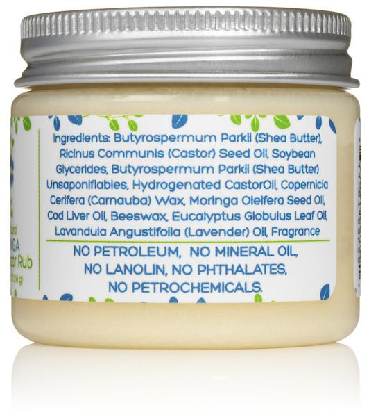 Mummy's Miracle Moringa Baby Vapor Rub 2oz Mild All Natural Chemical-Free For Infants, Kids and Adults with sensitive skin.,  15.00% Off Auto renew