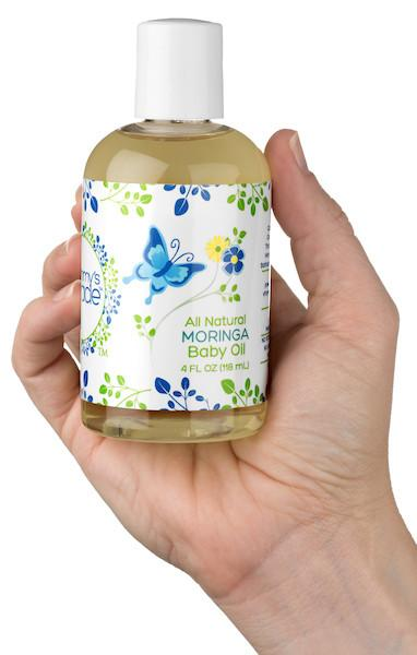 Mummy's Miracle Moringa Baby Oil 4oz All Natural Sensitive Skin Hypoallergenic  15.00% Off Auto renew