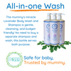 Moringa Body Wash & Baby Shampoo & Bubble Bath - Lavender 32oz
