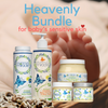 Mummy's Miracle Heavenly BUNDLE - 5 BATH-TIME ESSENTIALS FOR baby & family. GREAT FOR GIFT