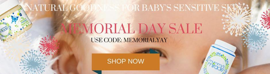 Mummy's Miracle ALL NATURAL Skincare for babies, kids and entire family.