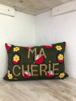 Green MA CHERIE Pillow