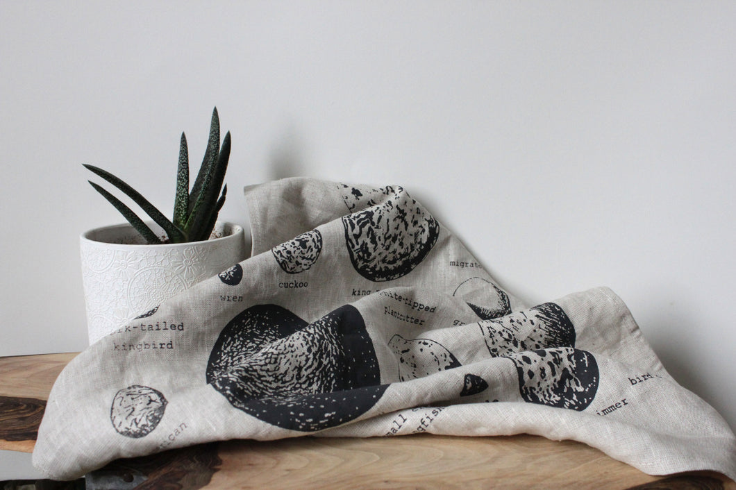 Tea towel - Bird Eggs