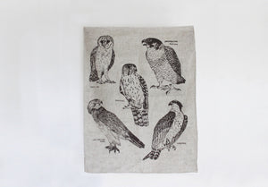 Tea Towel - Birds of Prey
