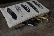 Load image into Gallery viewer, Large Pouch - Feather