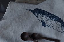 Load image into Gallery viewer, Tea towel - Narwhal