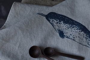 Tea towel - Narwhal