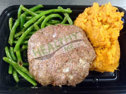 Individual 4oz. Beef Patty Meals