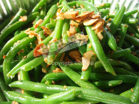 Green Beans Almondine By The Pound
