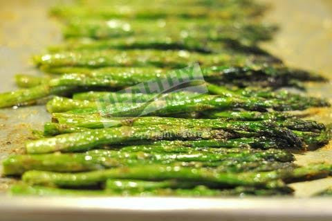 Roasted Asparagus by the pound.