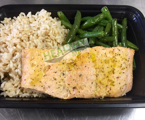 Individual 4oz. Salmon Meal