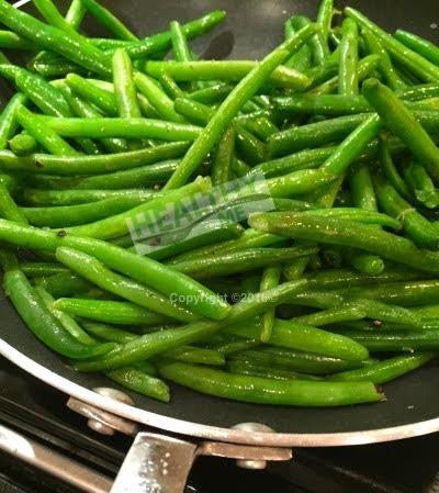 Pan Seared Green Beans by the pound.
