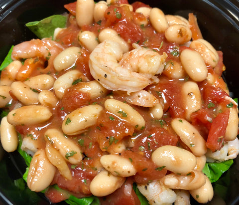 Shrimp & White Bean Salad