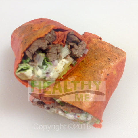 Greek Steak Wrap