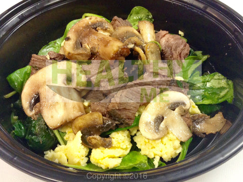 Paleo Steak & Egg Breakfast Bowl