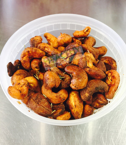 Spicy Cashews (8 oz portion)