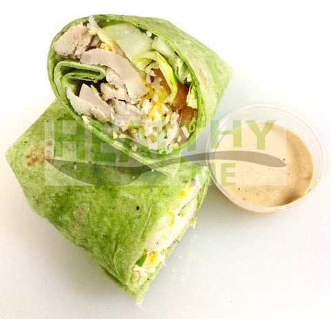 California Chicken Club Wrap