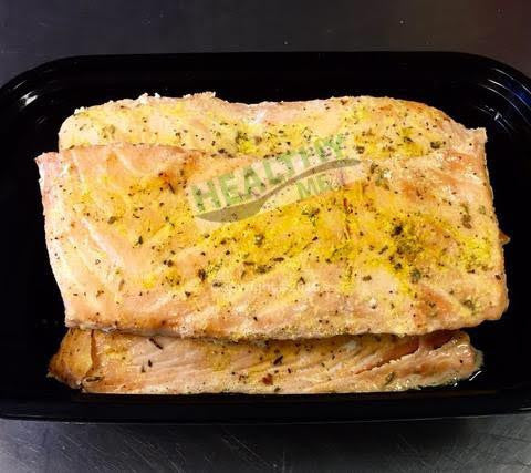 Baked Salmon by the pound.