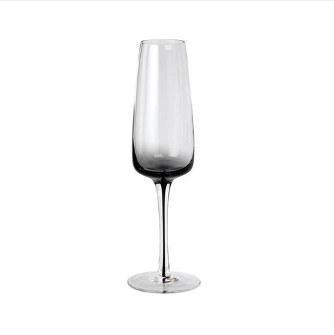 Broste Smoke Champagne Glass