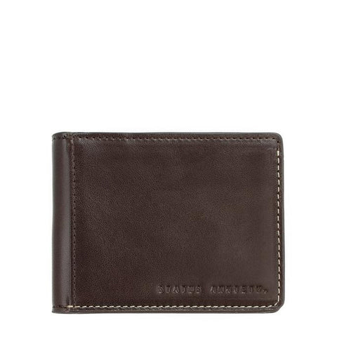 Status Anxiety Ethan Chocolate Wallet