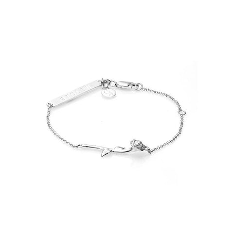 Stolen Girlfriends Club Rose Bar Bracelet