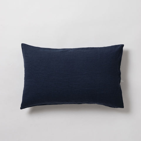 Citta Sove Linen Pillowcase Set Navy