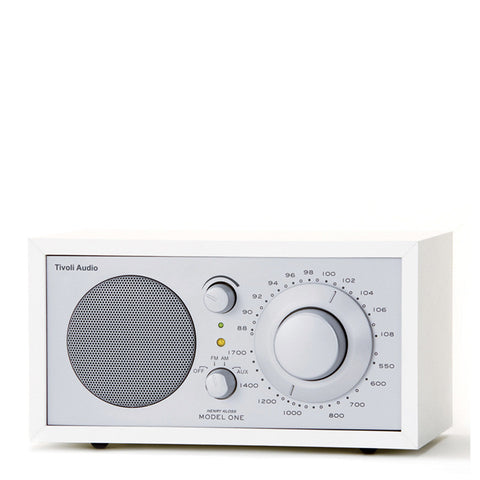Tivoli Model One White/Silver BT