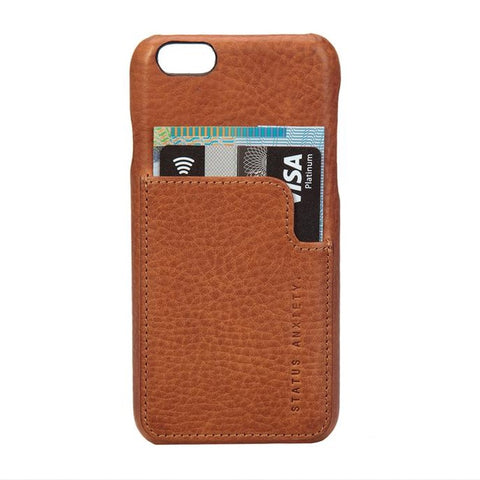 Status Anxiety  Hunter & Fox Iphone X Case Tan