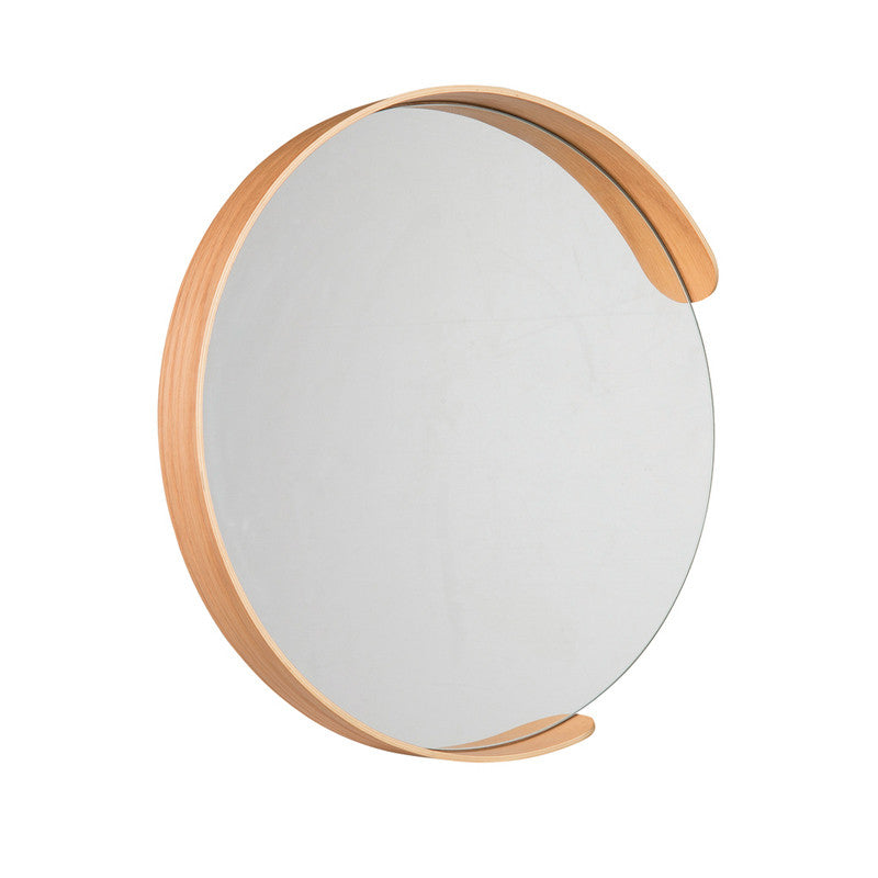 Citta Segment Mirror Natural Small