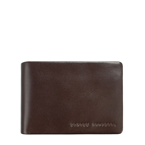 Status Anxiety Jonah Wallet Chocolate
