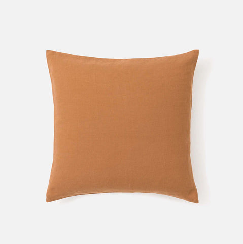 Citta Sove Linen Euro Pillowcase Toast
