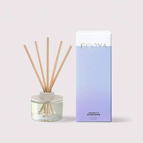 Ecoya Coconut & Elderflower Mini Reed Diffuser