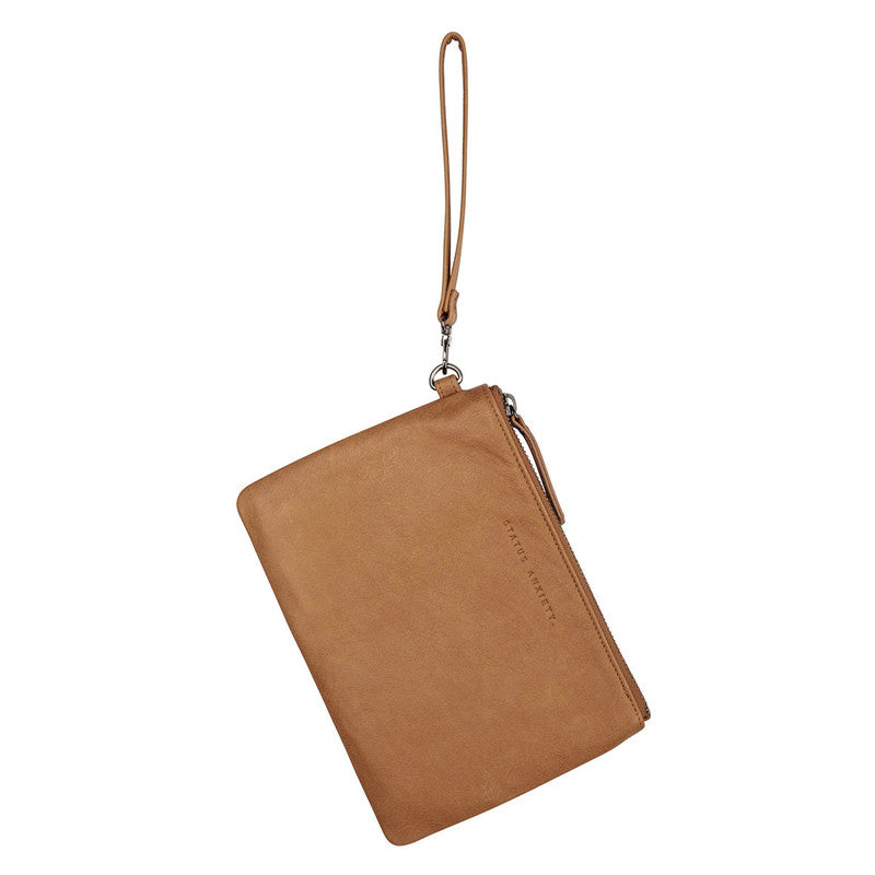Status Anxiety Fixation Wallet - Tan