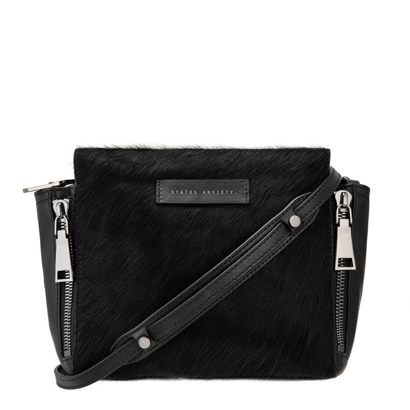 Status Anxiety The Ascendants Bag Black/Fur
