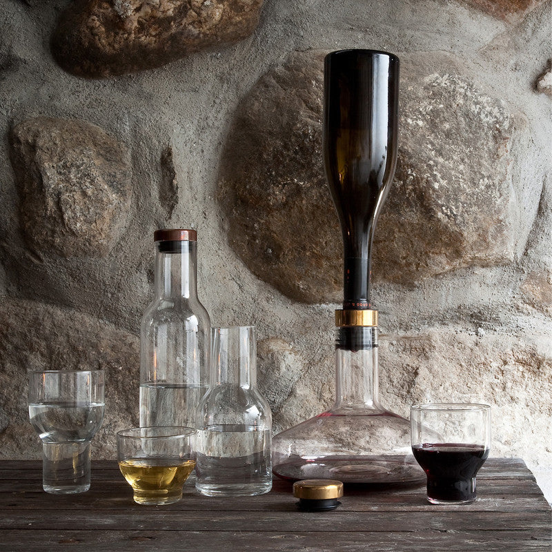 Menu Wine Breather Deluxe Gold