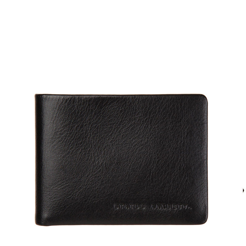 Status Anxiety Tobias Wallet Black