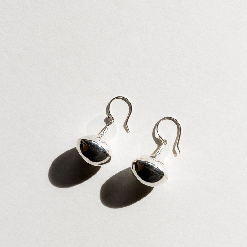 Jasmin Sparrow Autumn Earrings, Silver