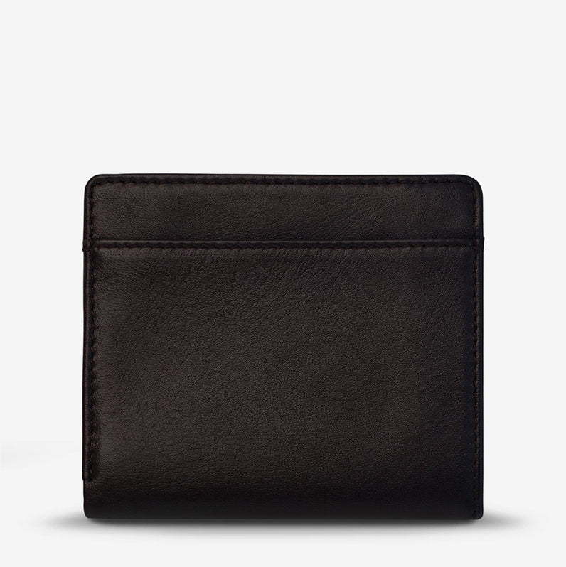 Status Anxiety Clifford Wallet Chocolate
