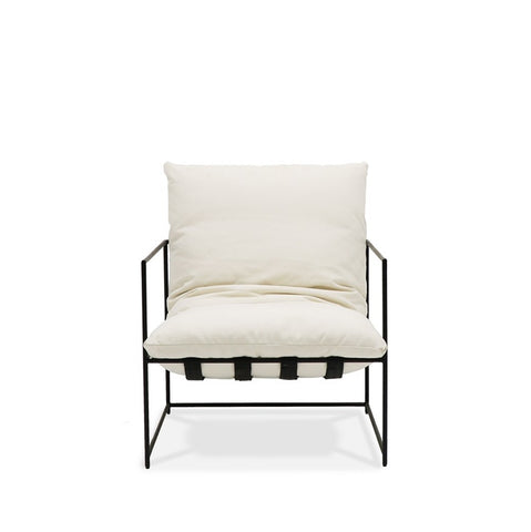 Lauro Club Chair White