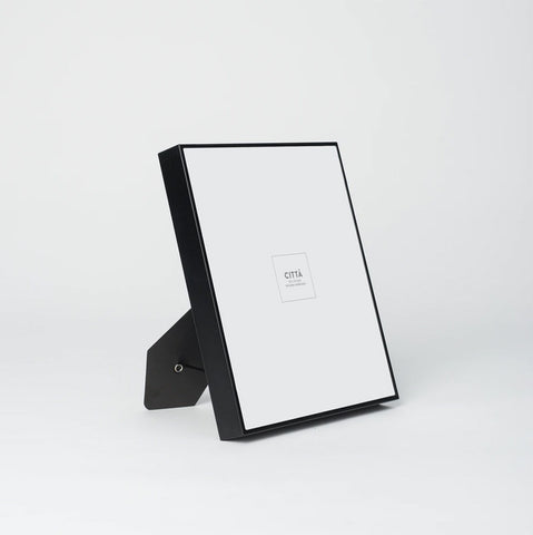 Contour Photo Frame Black