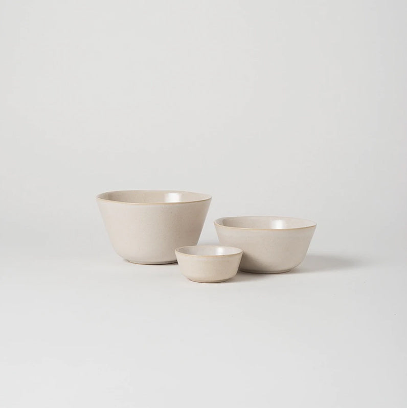 Citta Finch Cereal Bowl White/Natural