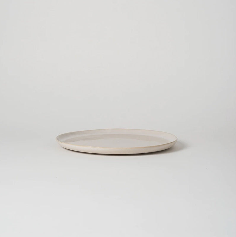 Citta Finch Dinner Plate White/Natural
