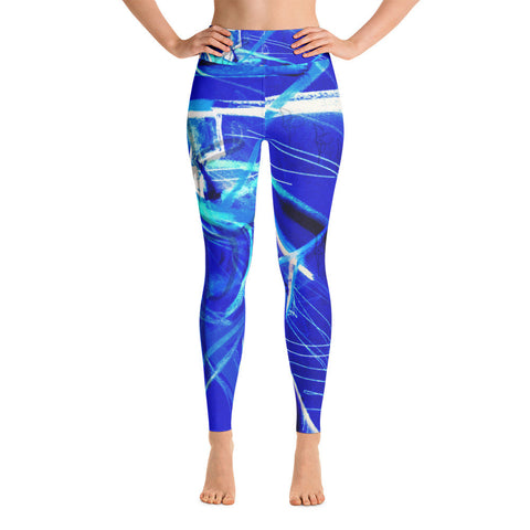 Blue Monk Yoga Leggings