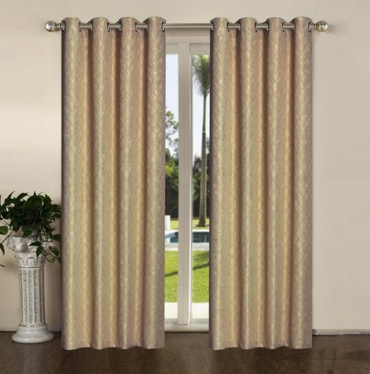 Sally Textiles Karen Panel, Taupe