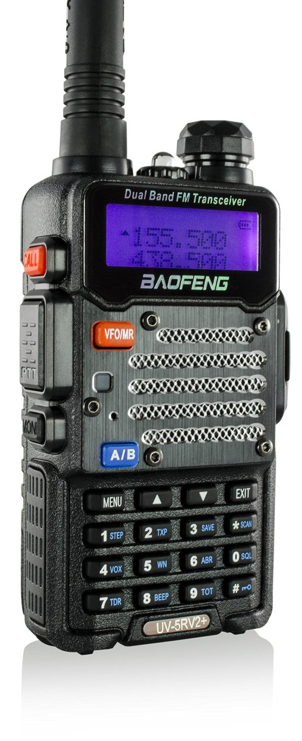 Baofeng Black Uv 5 R V2+ Plus (Usa Warranty)...