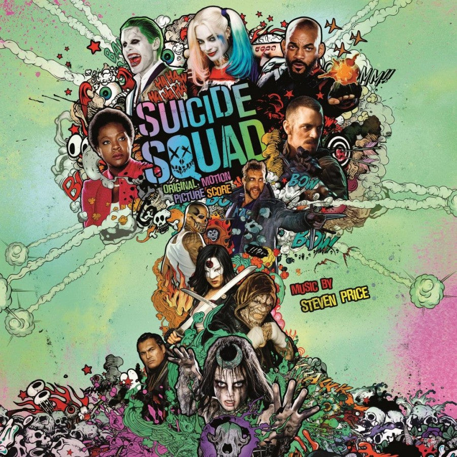 Suicide Squad, Original Motion Picture Score, Music By Steven Price