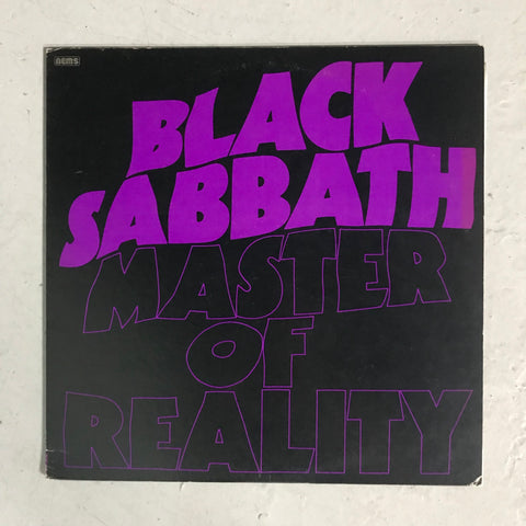 Black Sabbath, Master Of Reality LP (used, Japanese pressing)