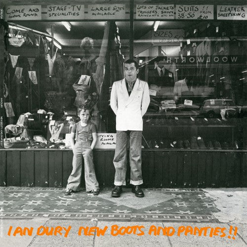 Ian Dury, New Boots And Panties!! LP