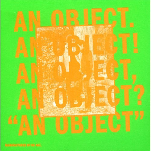 No Age, An Object LP