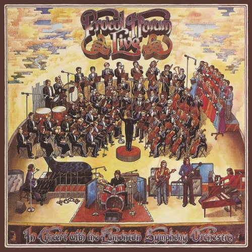Procol Harum, Live In Concert With The Edmonton Symphony Orchestra LP